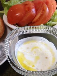 ヨーグルトと柚子胡椒のドレッシング