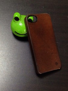 現在のincase Leather Snap Case for iPhone5