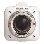 アウトドアの迫力ある映像やペットや子供の目線も撮れる185°広角デジカメQBiC MS-1