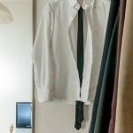 シャツを干すときはボタンを全部留める?2ヶ所で十分です