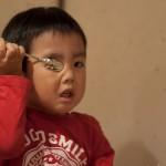 視力回復アプリは目の前に近づけて使う方が効果的