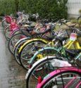 雨の日の自転車はメイクが崩れて最悪も顔が濡れず蒸れるのも防げた!